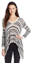 Billabong Junior's Love Lock Stripe Pullover Sweater