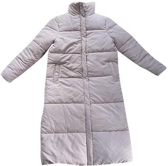 Aeryne Pink Coat for Women