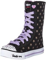 Skechers Twinkle Toes Shuffles Tall High Top Light-Up Sneaker