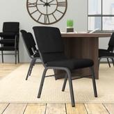 Church's Laduke Chair Symple Stuff Seat Finish: Black, Frame Finish: Silver Vein
