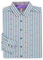 Robert Graham Big & Tall Saguaro Long Sleeve Sportshirt