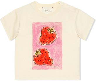 Gucci Kids Isabella Cotier printed T-shirt