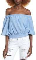J.o.a. Women's Cotton Off The Shoulder Top