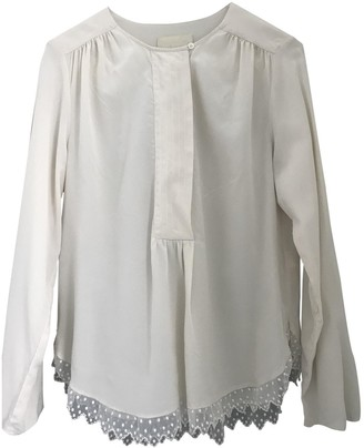 Zadig & Voltaire Beige Silk Top for Women