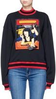 Ground Zero Movie poster embroidered sweatshirt