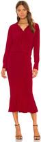 Norma Kamali X REVOLVE Boyfriend Shirt Fishtail Dress