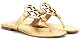 Tory Burch Miller Metallic Leather Sandals