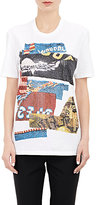 Maison Margiela WOMEN'S ABSTRACT JERSEY T-SHIRT-WHITE SIZE 48 IT
