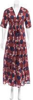 Figue Floral Print Maxi Dress