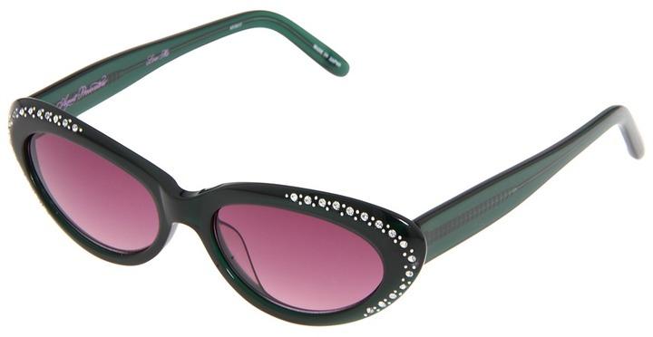 Agent Provocateur AP20C17SUN - Love Me (Dark Forest Green/Purple Gradient) - Eyewear