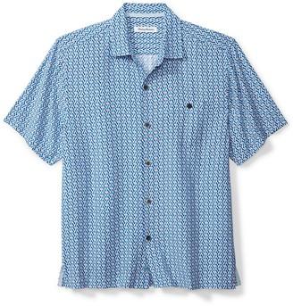 Tommy Bahama Marciano Tiles Camp Shirt (Big & Tall)