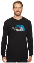The North Face Long Sleeve Half Dome Tee ) Men's T Shirt