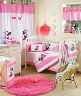 Disney Baby Minnie Mouse Flower Crib Bedding Accessory - Window Curtain