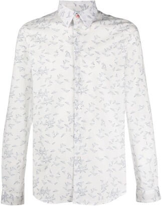 Paul Smith Paper Planes Printed Shirt