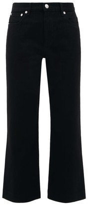 A.P.C. Sailor High-rise Cropped Jeans - Womens - Black
