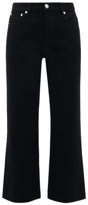 A.P.C. Sailor High-rise Cropped Jeans - Womens - Black