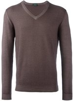 Zanone V-neck pullover