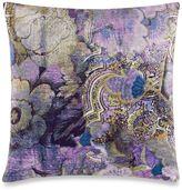 Tracy Porter Poetic Wanderlust® Kit Printed Velvet Square Throw Pillow in Purple