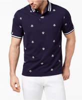 Club Room Men's Turtle-Print Polo, Created for Macy's