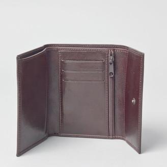 Maxwell Scott Bags Women S Timeless Full Grain Leather Wallet In Brown