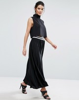 Vero Moda Pleated Maxi Skirt