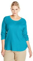 Dickies Women's Plus-Size Long Sleeve Stretch Thermal - Plus