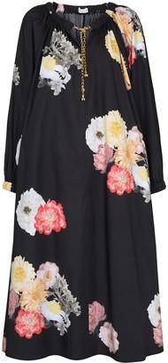 REJINA PYO Myra chain-detail floral dress