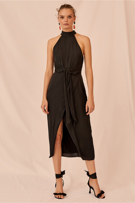Keepsake GRACIOUS MIDI DRESS black