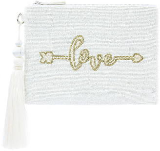 Monsoon Lulu Love Bead-Embellished Bridal Pouch