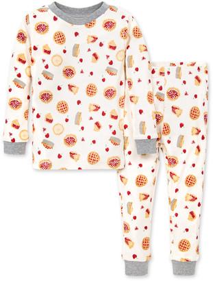 Burt's Bees Sweet as Pie Snug Fit Organic Baby Thanksgiving Pajamas
