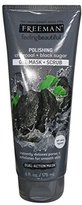Freeman Facial Charcoal and Black Sugar Polish Mask, 6 oz., Pack of 3