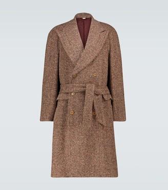 Gucci Wool-blend raglan coat
