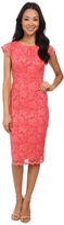 ABS by Allen Schwartz Lace Dress With Exposed Back Zipper