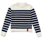 Kule The Ship Cashmere Sweater - Cream/Navy