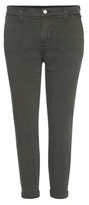 J Brand Josie Mid-rise Tapered Skinny Trousers