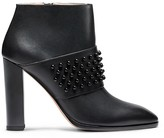 Calvin Klein Collection Resin Studs + Calf Round Tote Bootie