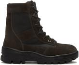 Yeezy Black Combat Boots