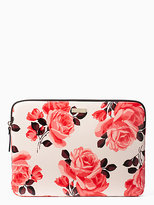 "Kate Spade 13"" Rose Laptop Sleeve"