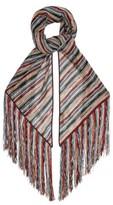 Missoni Metallic Stripe-knit Wrap Scarf - Womens - Multi