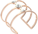 Vince Camuto Milky Resin Cut Out Cuff Bracelet
