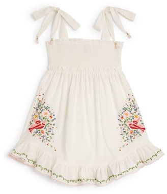 Zimmermann Kids Carnaby Embroidered Dress (2-10 Years)