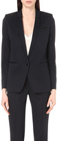 The Kooples Single-breasted stretch-wool jacket