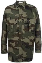 Faith Connexion camouflage print shirt jacket - men - Cotton - S