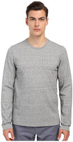 Vince Long Sleeve Double Knit Crew Neck T-Shirt