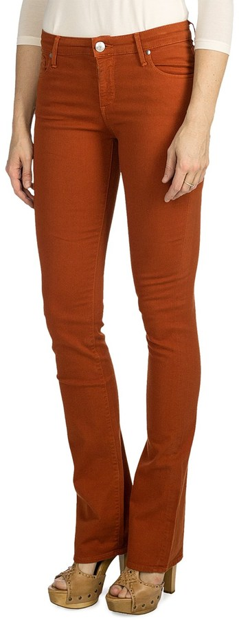 Agave Denim Linea Stretch Denim Jeans - Mid Rise, Classic Fit, Baby Boot Leg (For Women)