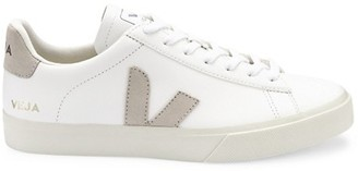 Veja Campo Leather-Trim Low-Top Sneakers Sneakers