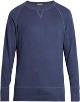 Bottega Veneta Raglan-sleeved cotton-blend jersey sweatshirt