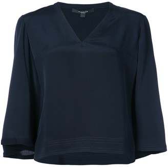 Derek Lam V-neck crepe de Chine blouse