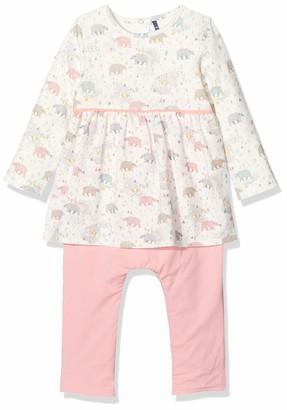 3 Pommes Baby Girls' 3p32090 Combi Longue Clothing Set