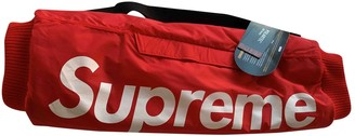 Supreme Red Synthetic Gloves